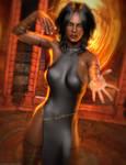 Promo Render - Sahana for Genesis 8 Female by QuanticDementia