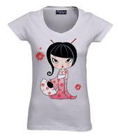 Geisha Tee by ideea