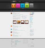 Webdesign company layout by floydworx