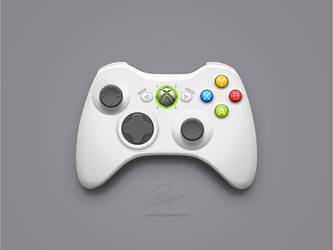 Xbox 360 controller by floydworx