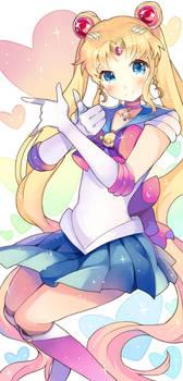 SHINY Sailor Moon Bookmark by GreyRadian
