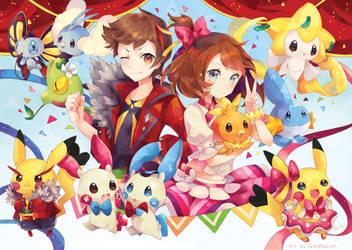 Pokemon ORAS Contest! by GreyRadian