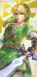 SHINY Legend of Zelda Bookmark by GreyRadian