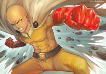 ONE PUNCH by GreyRadian