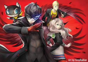 Persona 5 by GreyRadian
