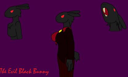 The Evil Black Bunny by Casandraelf