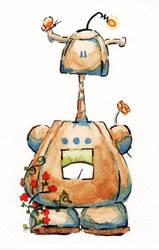 Epbot Robot by Caitiekabob
