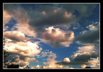 le ciel sur la France by VivecaLaMoreaux