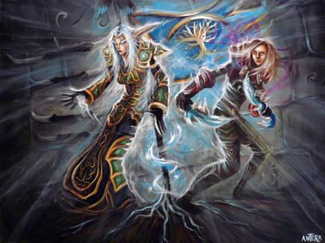 Fan Art World of Warcraft 32 by ArtByAntera
