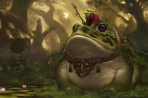 Goblin Mystic by Warmics