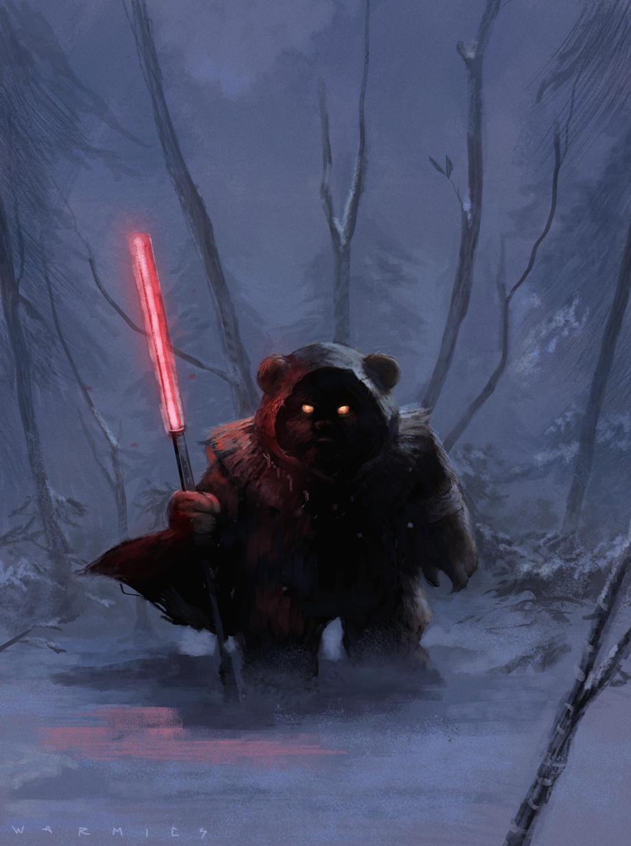 Darth Ewok by Warmics