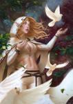 Elven Prayer by Warmics