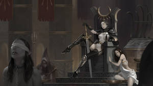 Saphia's Throne by Warmics