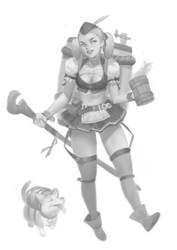 Concept - Brewmaiden 1 by Warmics