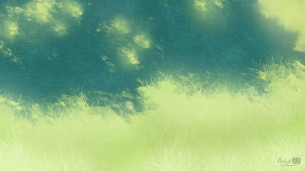 summer grass [BG] by Izuyosh