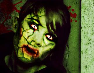 Zombie Sara Quin by acidburnbaka