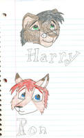 HARRY POTTER FURRIES by SacredCandybar
