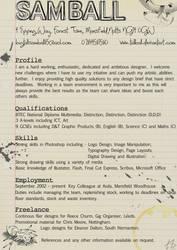 CV by tallball