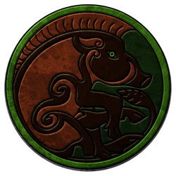 Celtic Boar Tile by Siobhan68