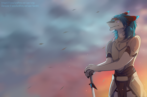 The warrior by Sidgi