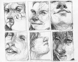 faces by ALEXAst