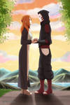 Reme and Kankuro by JuliettaSan