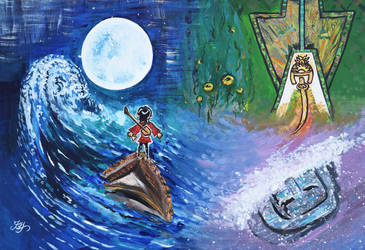 Kubo Painting by batootz
