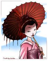Death By Geisha by MyDyingRose