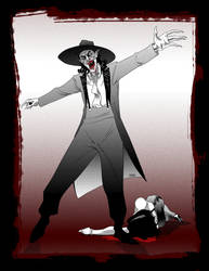 Zoot Suit Vampire by MyDyingRose