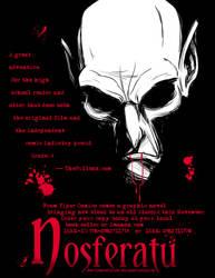 Nosferatu Flyer Color by MyDyingRose