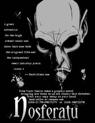 Nosferatu Flyer BW by MyDyingRose
