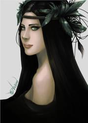 Lady in Black by GreenStranger