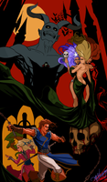 CastleVania Rondo of Blood by GreenStranger