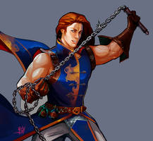 Richter Belmont Rondo of Blood by GreenStranger