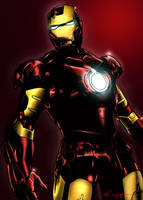 Iron Man Colors by ncajayon