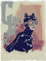 catwoman by kartinka75