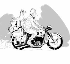 Biker by kartinka75
