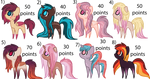 closed - fave colour adopts by aestheticstuffs