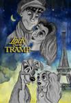 Lady and the Tramp by JabberjayArt