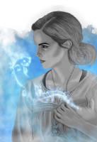 Hermione by JabberjayArt