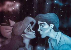 Kiss The Girl by JabberjayArt