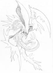Hydralisk Quick Sketch by haimerejloh