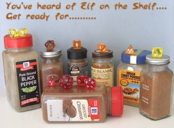 Elf Shelf Dice Spice... by lethe-gray