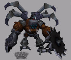 Crash:Nina's Spiderbot by Kravenous