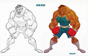 Street Fighter: Balrog by Kravenous