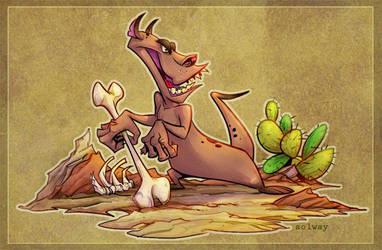 desert_creature by Kravenous