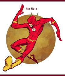 the Flash by Kravenous