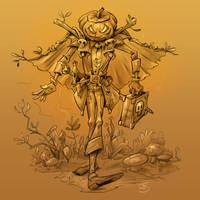 Pumkin Man by Kravenous