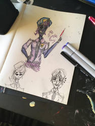 Purple guy  by TheMangledPuppet1