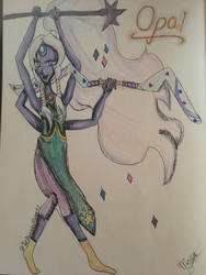 Opal-GRACEFUL AS HECK by TheMangledPuppet1